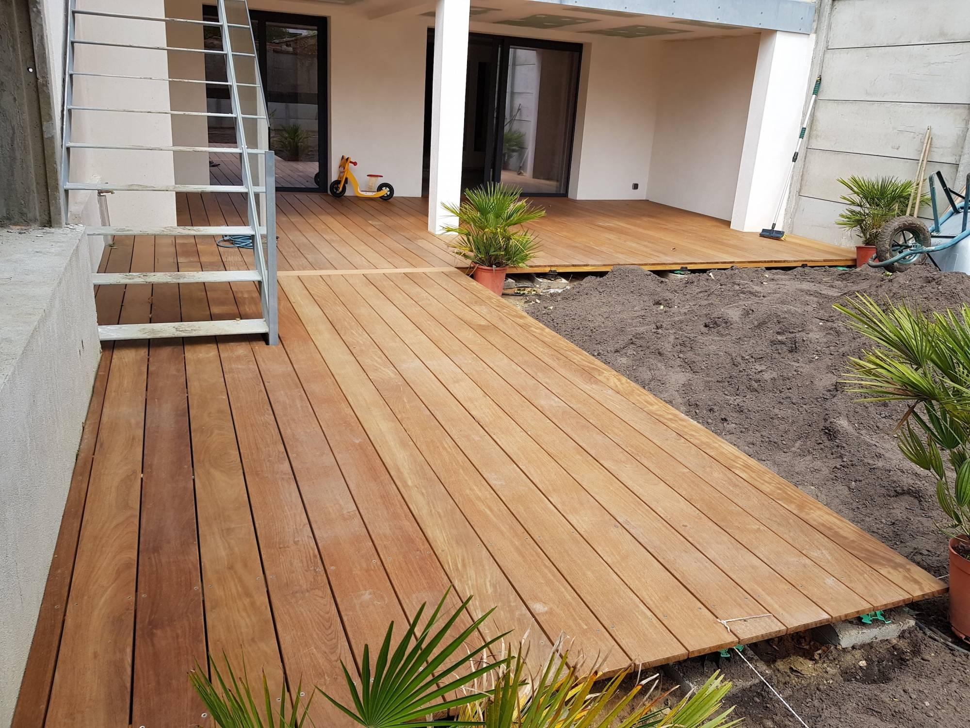 Terrasse En Bois Exotique vente et installation d'une terrasse en bois exotique ipe à
